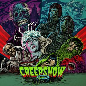 "JOHN HARRISON: Creepshow (Original Motion Picture Soundtrack)(""Sea Algae""Colored Vinyl) LP"