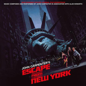 JOHN CARPENTER: Escape From New York (Original Soundtrack) (Blue Vinyl w/ Gatefold Sleeve) 2LP