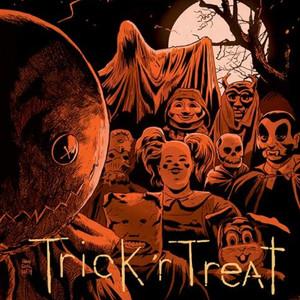 DOUGLAS PIPES Trick 'R Treat (Original 2007 Score) (Orange/Crystal Clear Color Vinyl) 2LP