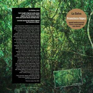 FRANCISCO LOPEZ La Selva LP/USB CARD