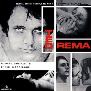 ENNIO MORRICONE: Teorema (1968 Original Soundtrack) LP