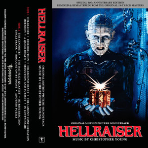 CHRISTOPHER YOUNG: Hellraiser (Soundtrack) (30th Anniversary) Cassette Tape