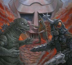"RIICHIRO MANABE: Godzilla Vs Megalon (Original Soundtrack) 12"" Silver Vinyl"