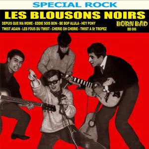 LES BLOUSONS NOIRS: Les Blousons Noirs 1961-1962 LP