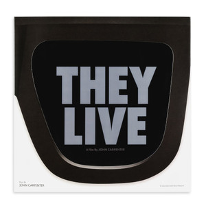 JOHN CARPENTER & ALAN HOWARTH: They Live (Original Motion Picture Soundtrack) LP