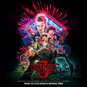 KYLE DIXON & MICHAEL STEIN: Stranger Things 3 (Original Score From The Netflix Series) (Neon Pink) 2LP