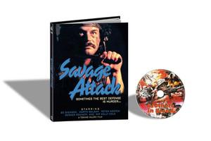 BROTHERS IN BLOOD aka SAVAGE ATTACK / LA SPORCA INSEGNA DEL CORRAGIO (Cover B) Blu-Ray