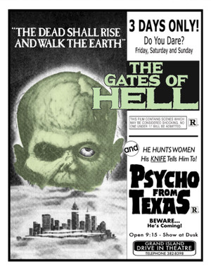 Gates of Hell + Psycho From Texas (Drive-in Double Feature) Blu-Ray