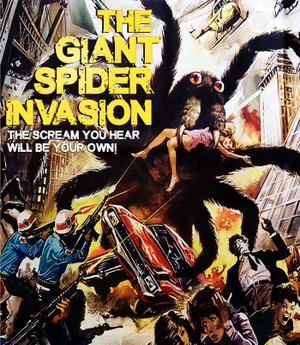 The Giant Spider Invasion [Remastered Edition] Blu-Ray