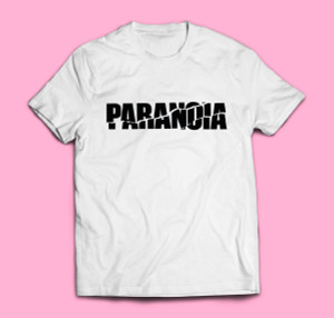 T-SHIRT Four Flies Limited PARANOIA Edition (Black/White)