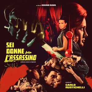CARLO RUSTICHELLI: Sei Donne Per L'Assassino (aka Blood And Black Lace) LP