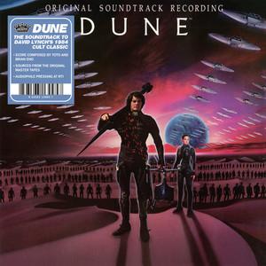 TOTO AND BRIAN ENO: Dune (Original Motion Picture Soundtrack (1984) LP
