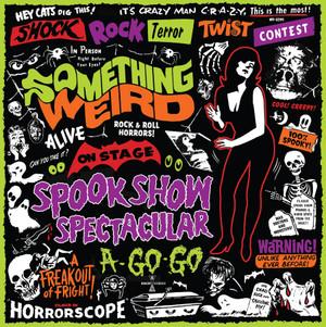 Something Weird - Spook Show Spectacular A-Go-Go (Green Vinyl) LP+DVD