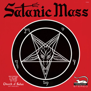 ANTON LAVEY: Satanic Mass LP