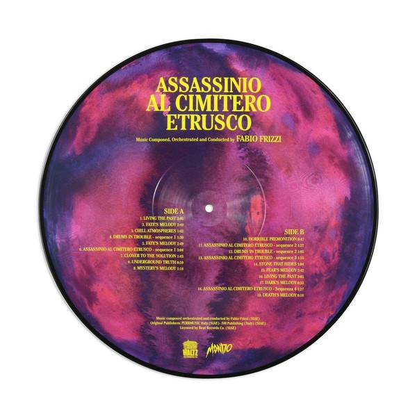 FABIO FRIZZI: Assassinio Al Cimitero Etrusco LP
