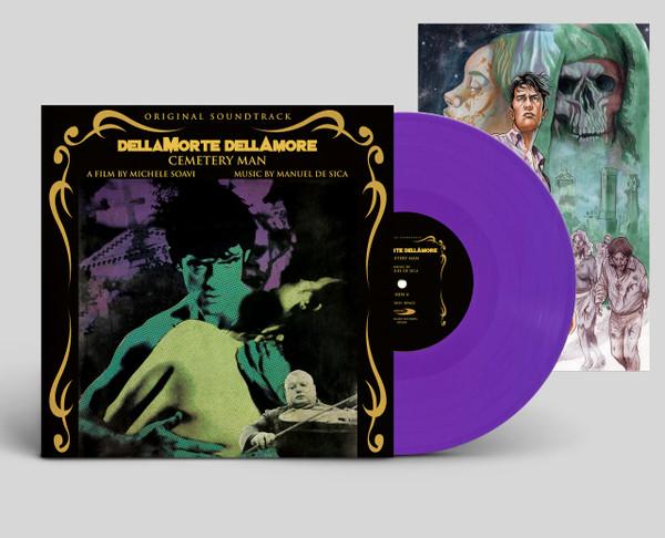 MANUEL DE SCIA: Dellamorte Dellamore: Cemetery Man Soundtrack (Limited Purple Vinyl) LP