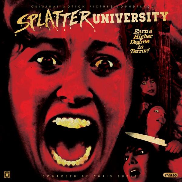 CHRIS BURKE: Splatter University LP