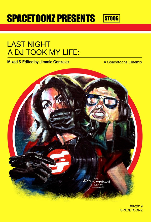 SPACETOONZ PRESENTS: Last Night a DJ Took My Life Blu-Ray