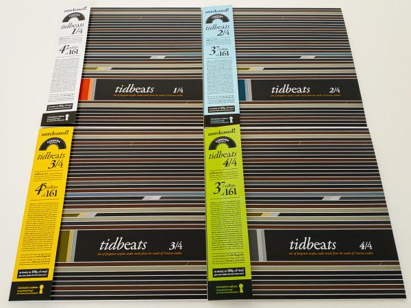 V/A: Tidbeats (Color) 4LP BOXSET