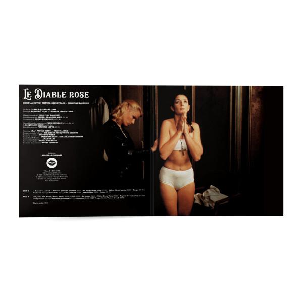 """CHRISTIAN BONNEAU: The Red Devil """"Le Diable Rose"""" (Original Motion Picture Soundtrack) LP"""
