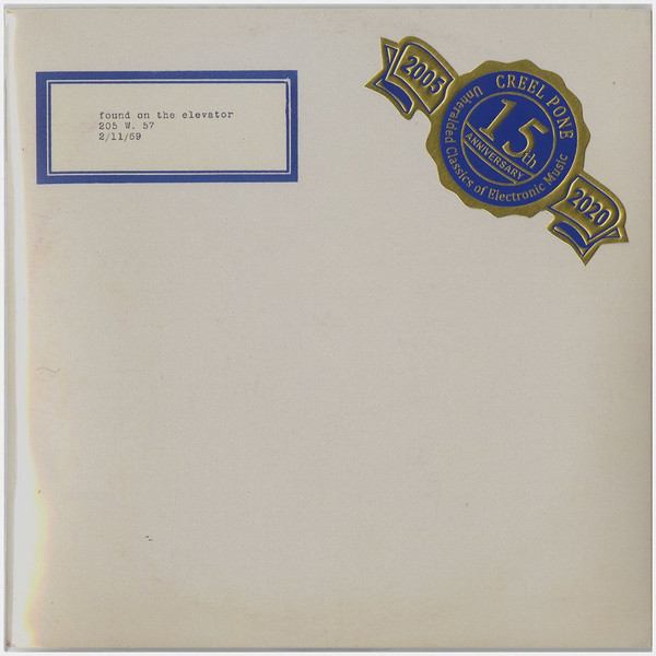 Found On The Elevator, 205 W. 57, 2/11/69 CD