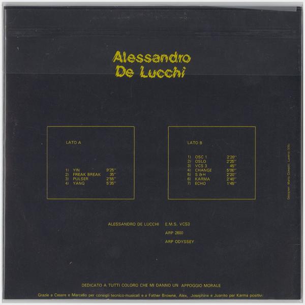 Alessandro De Lucchi CD