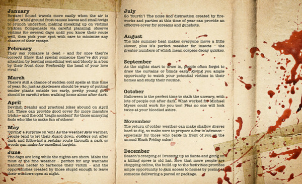 RUPERT LALLY: Maniac's Almanac (Ghost Face Killer) Cassette