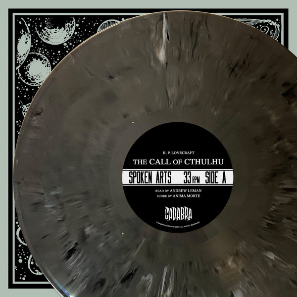 "H. P. Lovecraft's, The Call of Cthulhu 2LP Read by Andrew Leman, Score by Anima Morte -""Horror in Clay"" Variant"