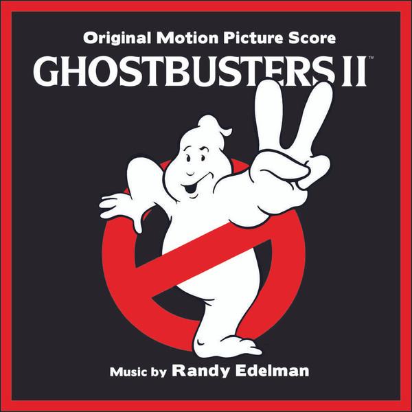 RANDY EDELMAN: Ghostbusters II (Soundtrack) (Clear vinyl w/ pink slime splatter) LP
