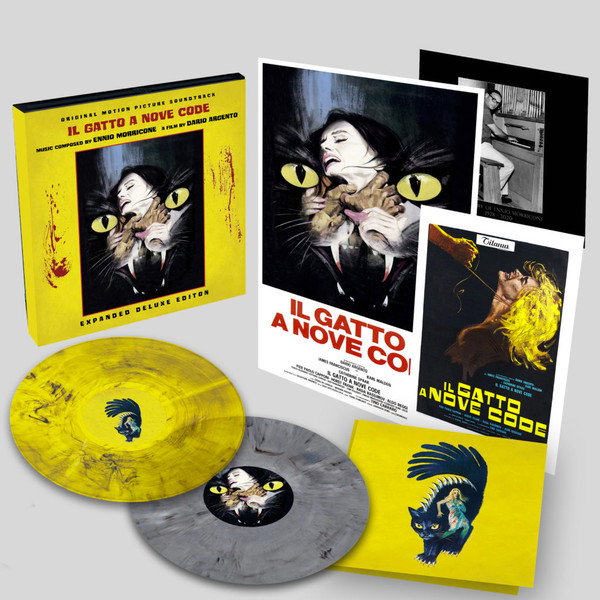 ENNIO MORRICONE: Il Gatto A Nove Code (Cat O'nine Tails Original Soundtrack) Deluxe Box Edition