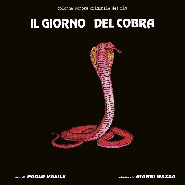 PAOLO VASILE: Il Giorno Del Cobra LP