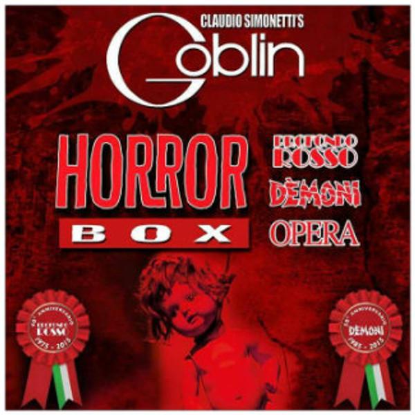 CLAUDIO SIMONETTI'S GOBLIN Horror Box 3LP BOX