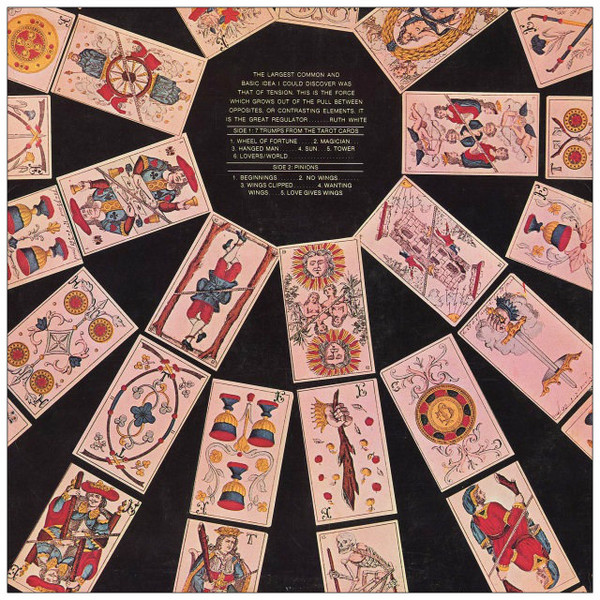 RUTH WHITE 7 Trumps from the Tarot Cards CD-R