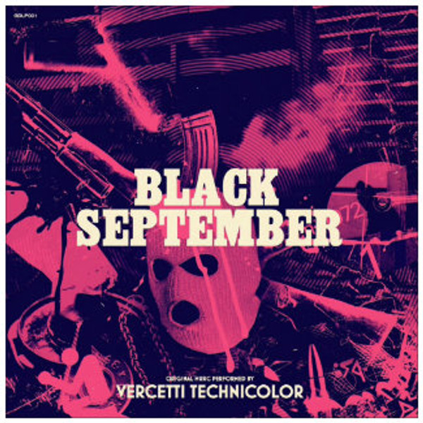 VERCETTI TECHNICOLOR Black September LP