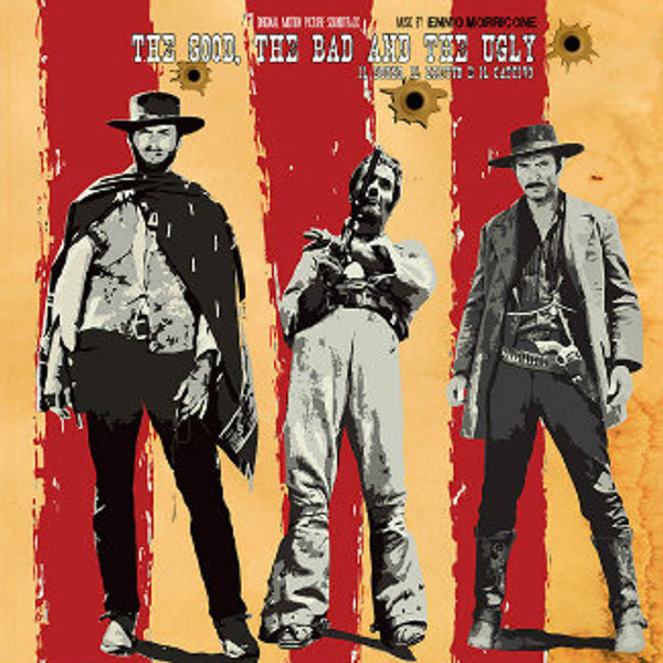 ENNIO MORRICONE Il buono, il brutto, il cattivo (The good, the bad and the ugly) LP
