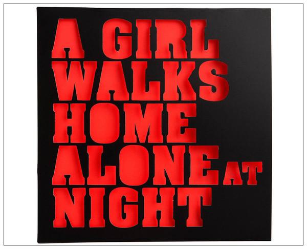 VA  A Girl Walks Home Alone At Night 2LP