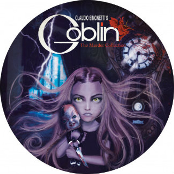 CLAUDIO SIMONETTI'S GOBLIN Murder Collection (Limited Picture Disc) LP