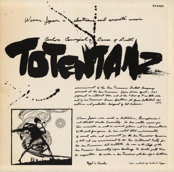WARNER JEPSON Totentanz CD-R