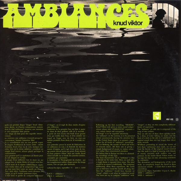 KNUD VIKTOR Images • Ambiances 2CD-R