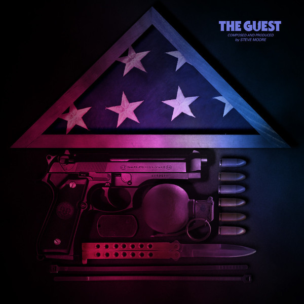 STEVE MOORE The Guest Original Motion Picture Soundtrack LP