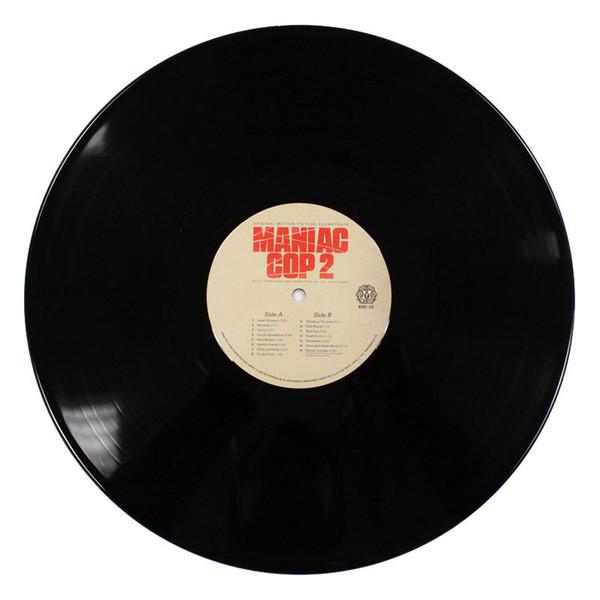 JAY CHATTAWAY Maniac Cop 2 (Original Motion Picture Soundtrack) LP