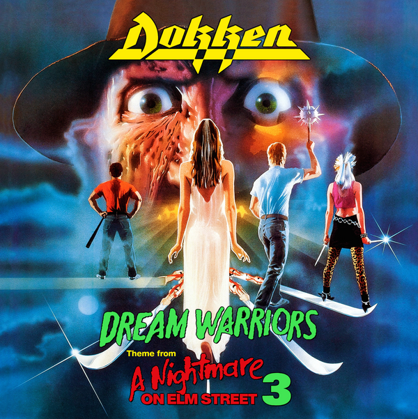 "DOKKEN Dream Warriors (Theme from Nightmare on Elm Street 3) 7"""