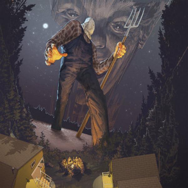 HARRY MANFREDINI Friday The 13th Part II (1981 Original Score) LP