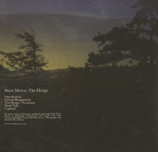 STEVE MOORE The Henge CD