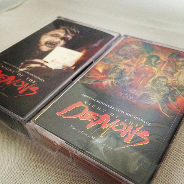 DENNIS MICHAEL TENNEY: Night Of The Demons (Original 1988 Motion Picture Soundtrack) CS