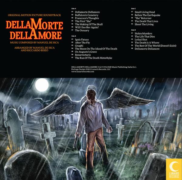 MANUEL DE SICA Dellamorte Dellamore (Original Motion Picture Soundtrack) 2LP