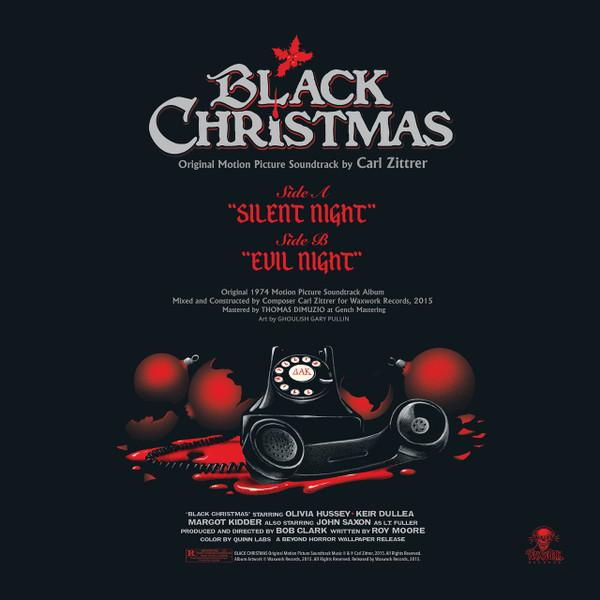 CARL ZITTRER: Black Christmas LP