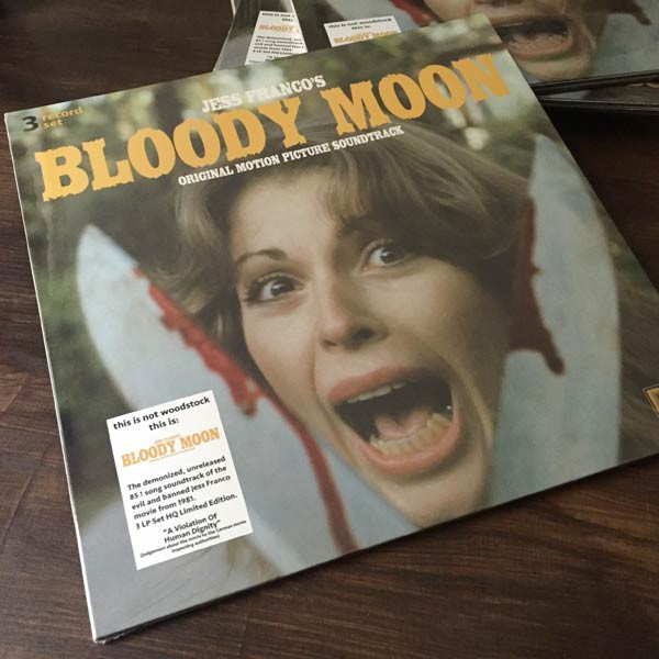 ORCHESTER MICHEL DUPONT / GERHARD HEINZ Jess Franco's Bloody Moon (Original Motion Picture Soundtrack) 3LP