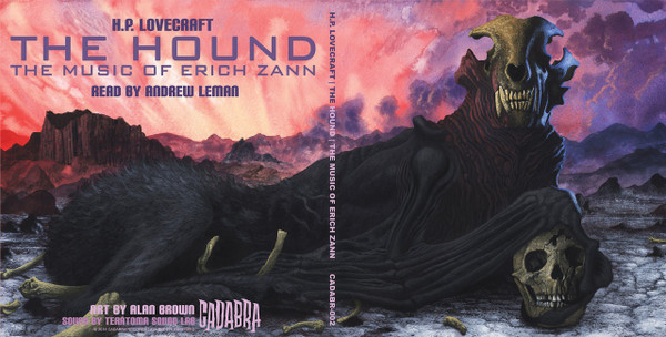 ANDREW LEMAN AND TERATOMA SOUND LAB H.P. Lovecraft - The Hound & The Music of Erich Zann LP