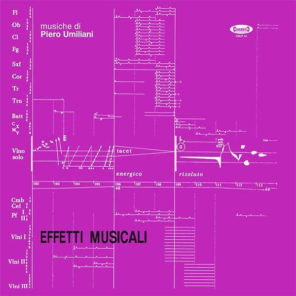 PIERO UMILIANI Effetti Musicali LP